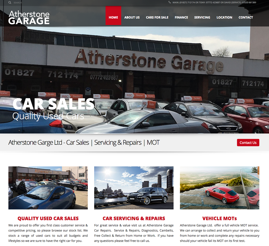 Atherstone Garage Ltd