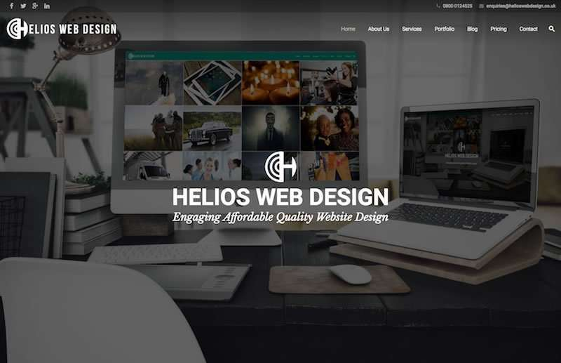 Helios Web Design - Engaging, Affordable, Quality Website Design