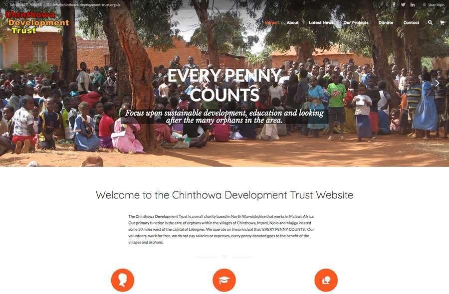 Chinthowa Development Trust Charity Website