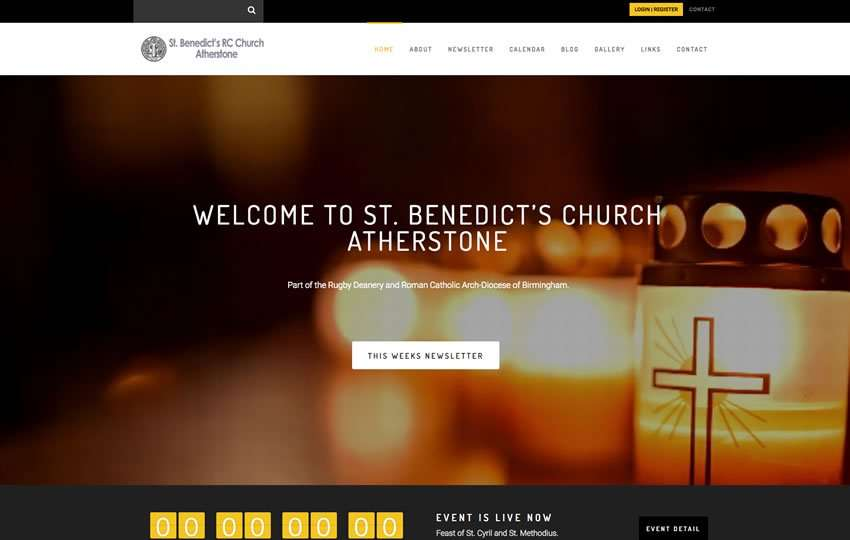 Helios Website Design - St Bens Website