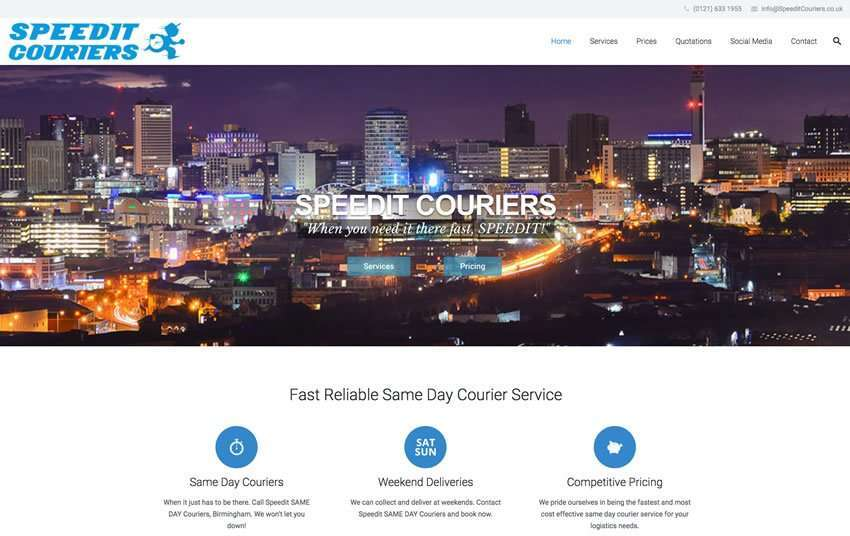 Speedit Couriers - Same Day Couriers