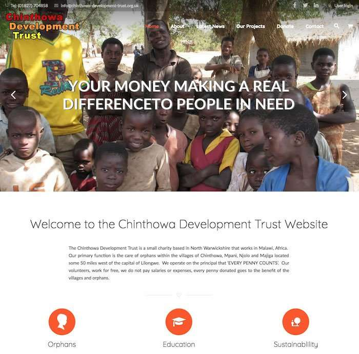 Wordpress Websites For Charities & Social Enterprises