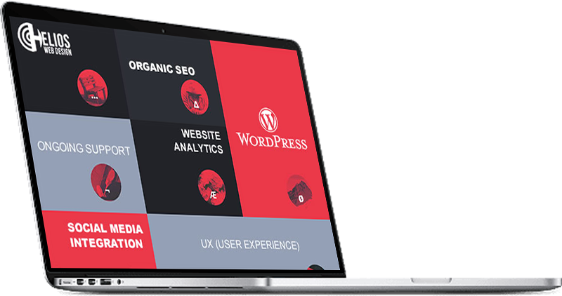 Helios Web Design provides specialist WordPress website design